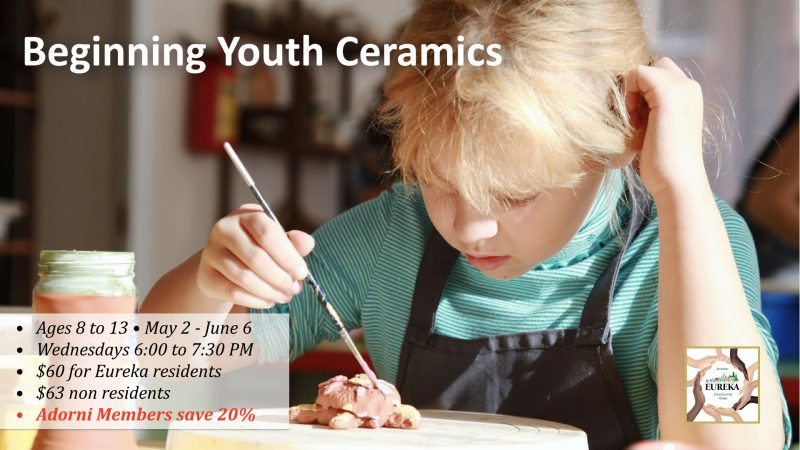 Beginning Youth Ceramics Returns May 2
