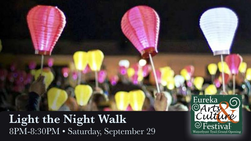 Build a Recycled Lantern and Light the Night Walk at Arts and Culture Festival