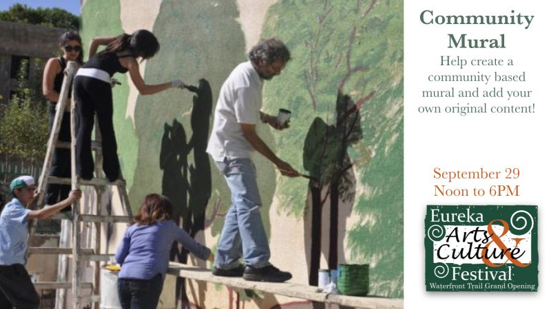Live Art and Community Mural at Arts and CultureFestival
